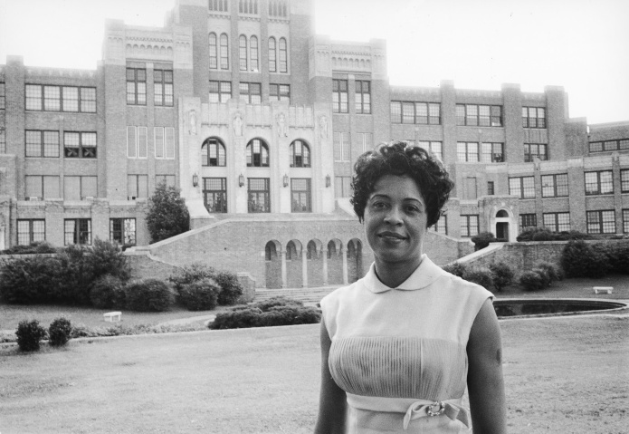 Daisy Bates at Central High School