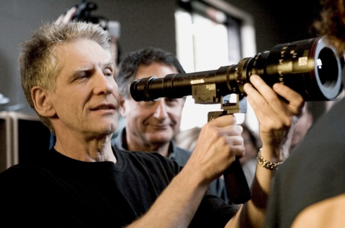David Cronenberg directing A History of Violence